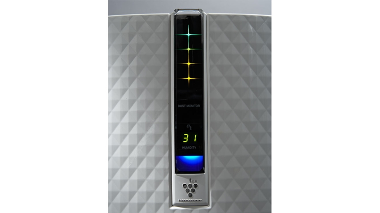 Best Air Purifier and Humidifier Combo - #2 Sharp KC-850U Plasmacluster Air Purifier and Humidifier Combo - Control Panel