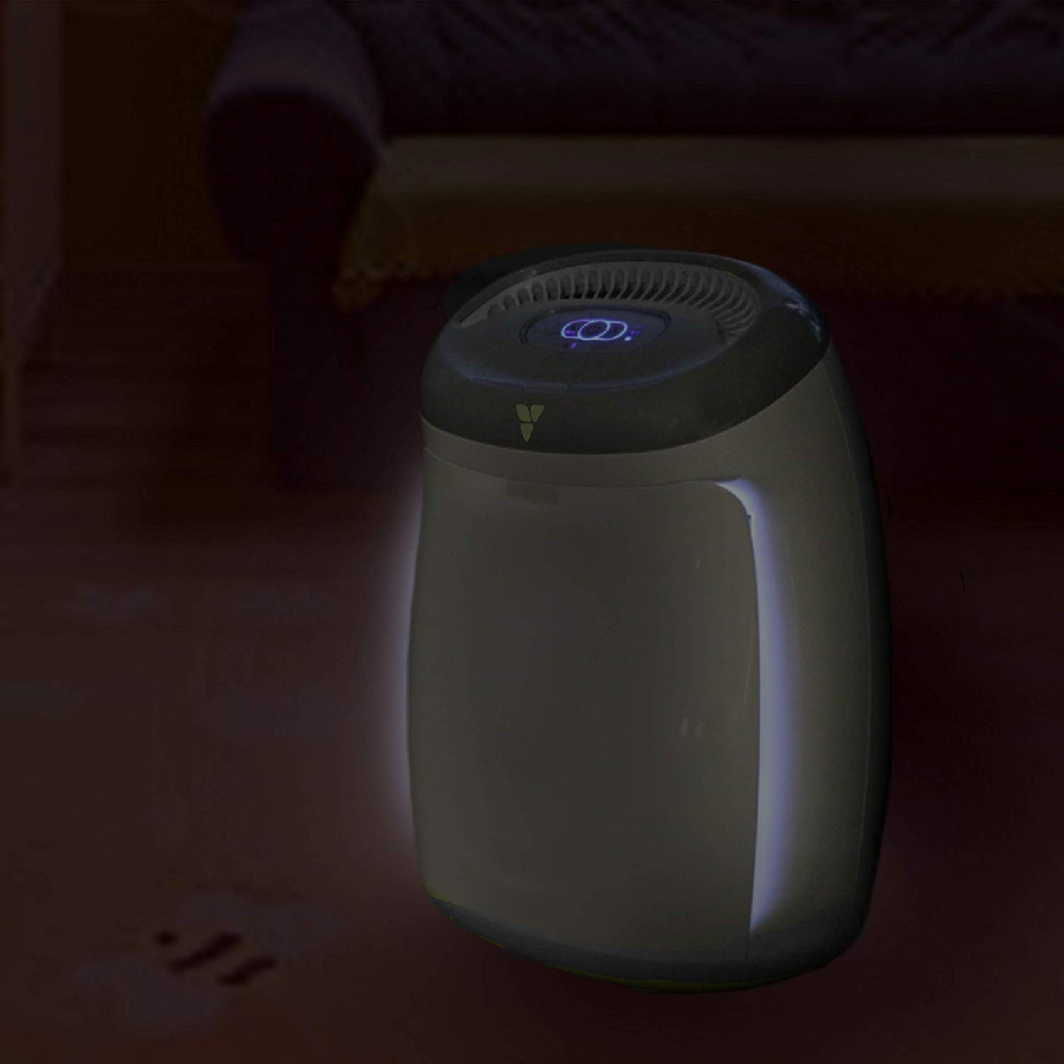 Best Air Purifier for Baby - #1 Vornadobaby Purio Air Purifier - Sleepy time nightlight