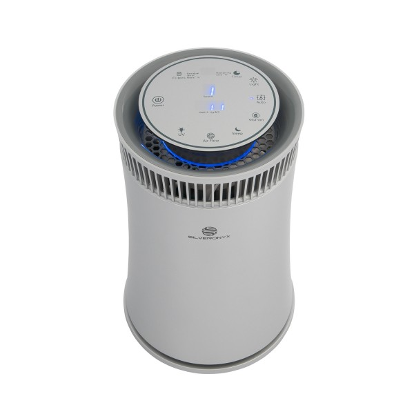 Best Air Purifiers for Mold Spores and Mildew - #3 SilverOnyx Air Purifier Silver