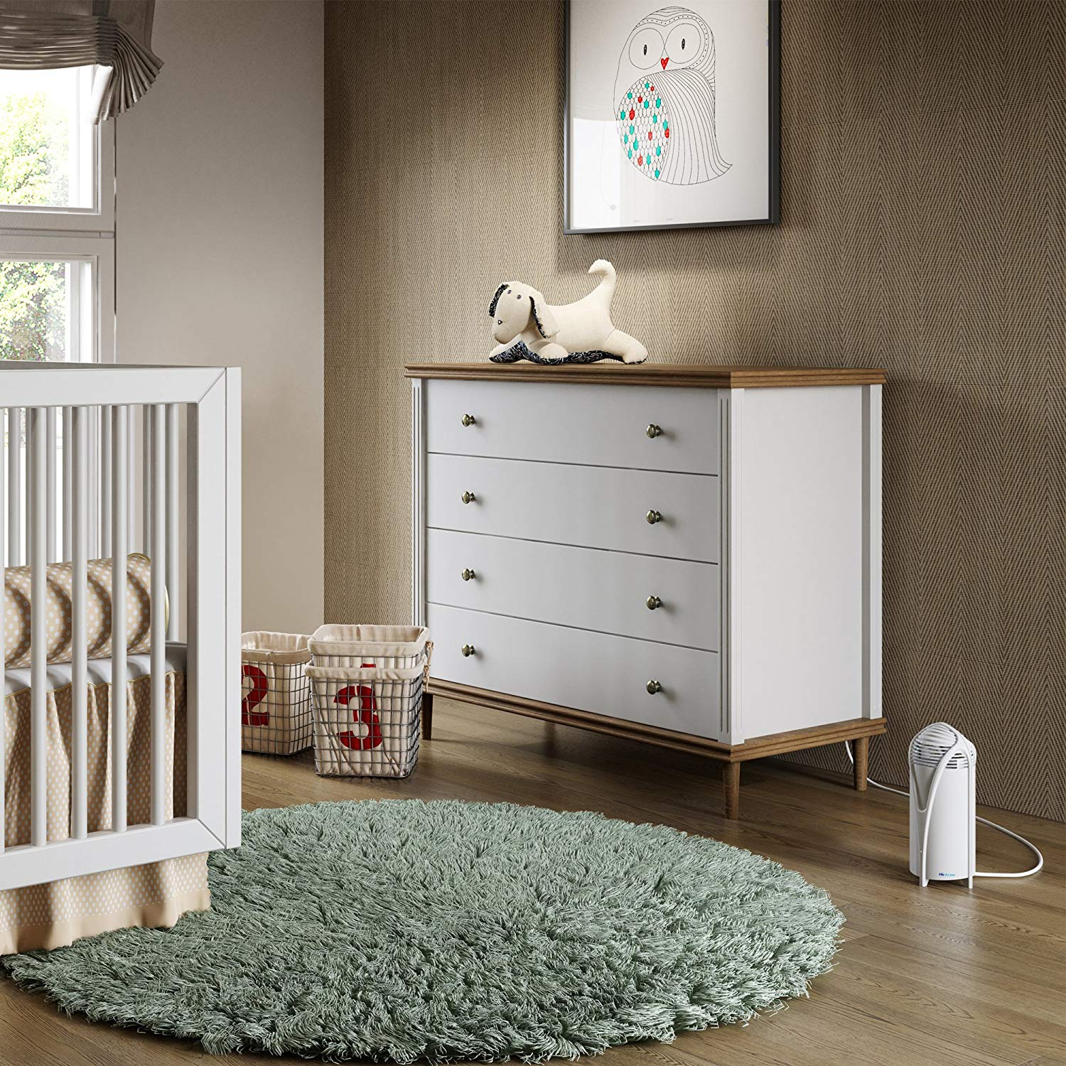 Best Filterless Air Purifier - #2 Airfree T800 in a Baby's Nursery