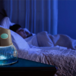 The LED light on the Rainbow RainMate acts a nightlight come sundown. A great inclusion in the bedroom!